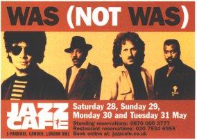 Advert in April 2005 Mojo for London tour 2005